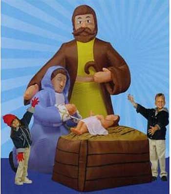 inflatable nativity 2